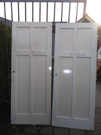 LEEN_Oude bouwmaterialen_Set van 2 paneeldeuren 100.10.100112