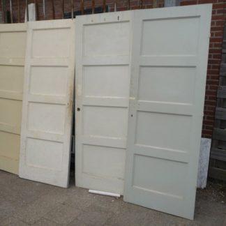 LEEN_Oude bouwmaterialen_Set van 4 paneeldeuren 100.10.102193