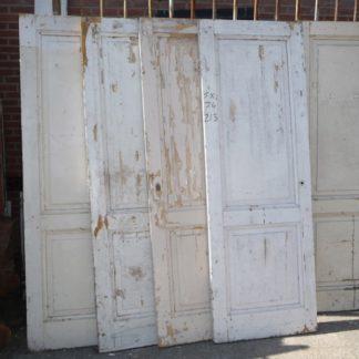 LEEN_Oude bouwmaterialen_Set van 5 oude deuren 100.120.102214