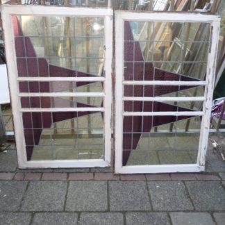 LEEN_Oude bouwmaterialen_glas in lood ramen 300.20.101089